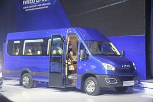 Thaco giới thiệu dây chuyền sản xuất và sản phẩm Mini Bus Iveco Daily