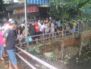 Quảng Nam: Nghi một phụ nữ rớt xuống cống thoát nước mất tích