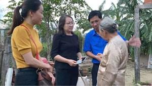 Quảng Ngãi: Gần 4 tỷ đồng trao tận tay người dân khắc phục hậu quả bão số 9
