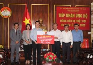 Vingroup ủng hộ 20 tỷ đồng xây nhà tái định cư cho dân Quảng Nam