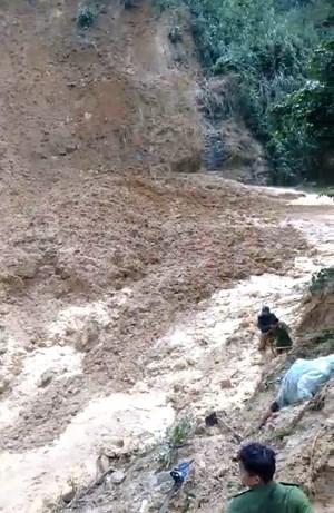 Quảng Nam: Đã tìm thấy thi thể nạn nhân trong vụ sạt lở ở xã Trà Tân