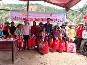Quảng Nam: Hơn 500 suất quà đến với bà con vùng cô lập Phước Thành