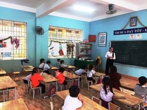 Trà Leng: Sau lũ dữ, học sinh đã trở lại trường