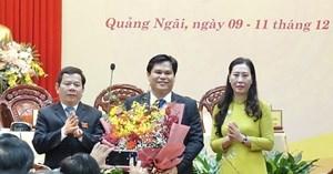 Quảng Ngãi có tân Phó chủ tịch UBND tỉnh