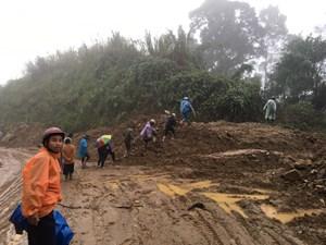 Quảng Nam: Phát hiện thêm một người tử nạn do sạt lở đất