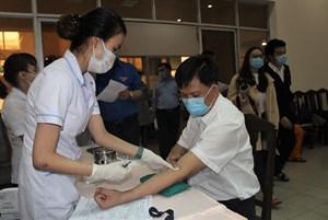 Hơn 100 cán bộ, công nhân viên PC Quảng Nam hiến máu tình nguyện