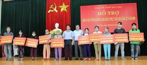Quảng Nam: TP Hà Nội hỗ trợ 900 triệu đồng cho huyện Phú Ninh khắc phục bão lũ