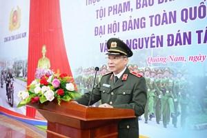 Công an tỉnh Quảng Nam ra quân đợt cao điểm trấn áp tội phạm