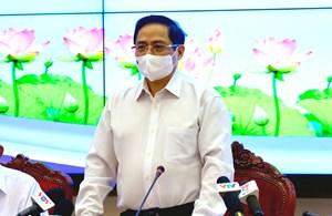 Thủ tướng Chính phủ Phạm Minh Chính làm việc với TP HCM