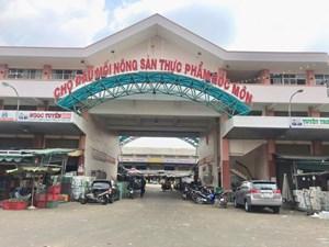 TP Hồ Chí Minh khẩn trương lấy 500 mẫu xét nghiệm ở Chợ Đầu mối Nông sản Thực phẩm Hóc Môn