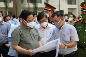 Thủ tướng Phạm Minh Chính: Không để bị lây nhiễm chéo trong khu điều trị