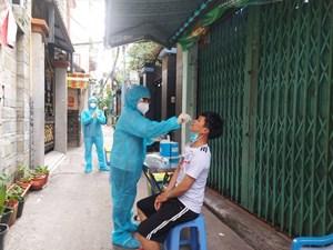 Số ca nhiễm mới tại TP Hồ Chí Minh đang giảm dần