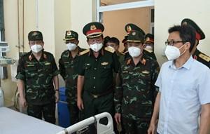 Bộ Quốc phòng khai trương bệnh viện dã chiến điều trị Covid-19 tại TP HCM