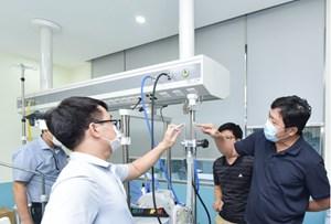 TP Hồ Chí Minh: Bệnh viện hồi sức được trang bị bình oxy có khối lượng 20 tấn