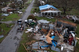 Mỹ: Lũ trồng dịch, người dân bang Louisiana rơi vào cảnh 'không lối thoát'