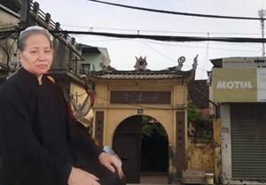Lùm xùm quanh việc 'thu hồi đất chùa Diệu Nam, đền bù cho người không liên quan'