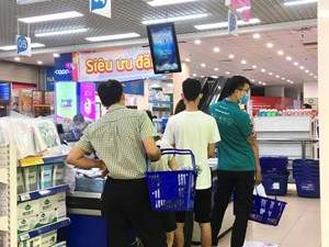 Hà Nội: Chủ quan trong phòng chống dịch tại các chợ dân sinh, siêu thị