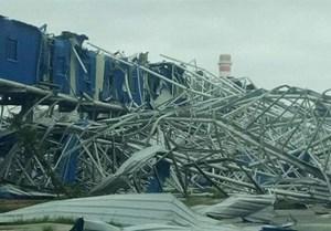 Sập nhà xưởng ở Nhà máy thép Hòa Phát - Dung Quất, 3 người tử vong