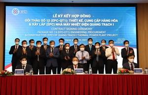 Gói thầu số 15 Dự án Nhà máy Nhiệt điện Quảng Trạch I trị giá hơn 30.000 tỷ đồng