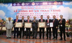Một thương hiệu Việt lập 'cú đúp' Kỷ lục Thế giới