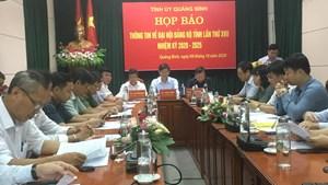 Không triệu tập 2 người 'tự dưng có tên' dự Đại hội Đảng bộ tỉnh Quảng Bình