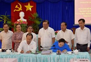Cà Mau: Ủy ban Bầu cử tỉnh bàn giao 138 bộ hồ sơ người ứng cử