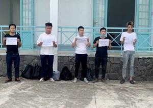 Bắt giữ nhiều thanh niên Trung Quốc chuẩn bị vượt biên