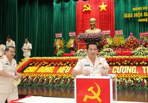 An Giang: Giám đốc Công an tái đắc cử Bí thư Đảng uỷ