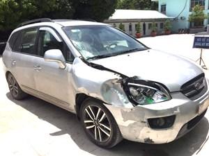 An Giang: Đã bắt được tài xế gây tai nạn chết người bỏ trốn
