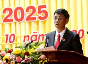 Ông Lâm Văn Mẫn được bầu giữ chức Bí thư Tỉnh uỷ Sóc Trăng