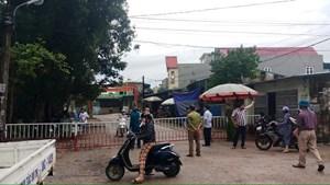 Sầm Sơn phong tỏa một khu phố vì có người nghi dương tính