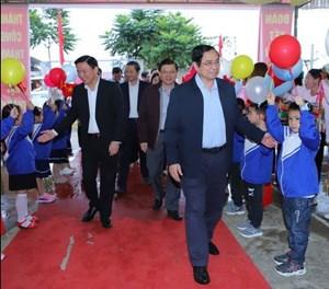 Trưởng ban Tổ chức TW dự Ngày hội Đại đoàn kết tại Thanh Hoá