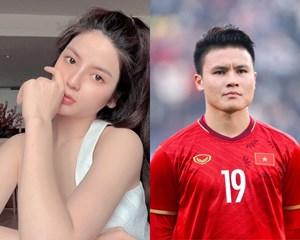 Ngắm nhan sắc xinh đẹp, quyến rũ bạn gái tin đồn của cầu thủ Quang Hải