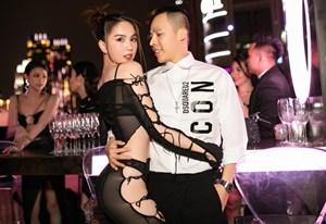 'Sao' Việt trong ngày: Ngọc Trinh khoe đường cong sexy trong tiệc đầu năm mới