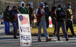 Bầu cử Thượng viện ở Georgia: Đảng Dân chủ tạm dẫn trước