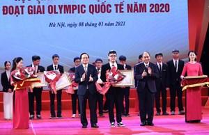 Tuyên dương học sinh THPT đoạt giải Olympic quốc tế 2020