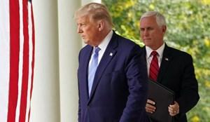 Tổng thống Trump và phó tướng Pence gặp nhau lần đầu sau bạo loạn