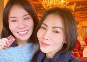 'Sao' Việt trong ngày: Thu Minh và em gái giống nhau như hai giọt nước