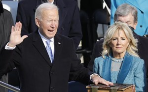 Những khoảng khắc thú vị trong Lễ nhậm chức của Tổng thống Biden