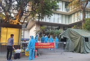 Đình chỉ hoạt động phòng khám bệnh nhân Covid-19 người Nhật đã đến khám