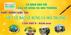 Chung tay bảo vệ rừng và môi trường