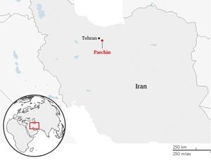 Nổ lớn gần căn cứ quân sự Iran