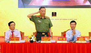 Bộ trưởng Tô Lâm: 'Xử lý nghiêm các trường hợp cán bộ công an vi phạm'