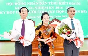 Phó Bí thư Tỉnh ủy được bầu giữ chức Chủ tịch UBND tỉnh Kiên Giang