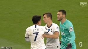 Son Heung-min và Hugo Lloris xô xát ngay trước mặt Jose Mourinho
