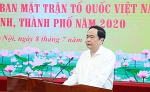 Hội nghị Chủ tịch Uỷ ban MTTQ Việt Nam các tỉnh, thành phố năm 2020