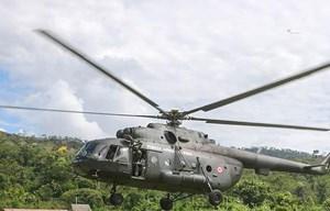 Rơi trực thăng tại Peru khiến 4 quân nhân và 3 dân thường tử vong