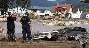 Số người chết do lũ lụt ở Đức tăng lên 156 người