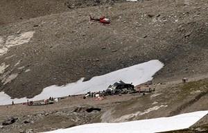 Thụy Sĩ: Rơi máy bay ở vùng núi Alps khiến 4 người thiệt mạng