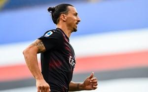 Ibrahimovic ghi bàn liên tục, chỉ còn kém Ronaldo và Messi